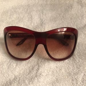 Authentic Red Tom Ford Shades